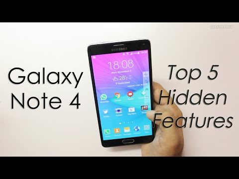 My Top 5 Hidden Features On The Samsung Galaxy Note 4