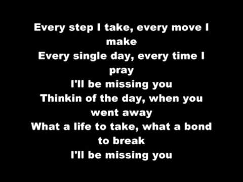 Puff Daddy - I'll Be Missing You (LYRICS)