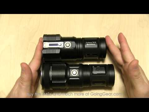 NItecore Tiny Monster TM26 Quadray 3500 Lumen Flashlight Extended Review