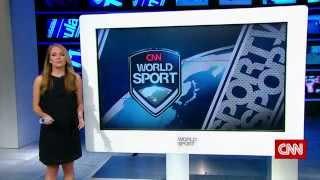 CNN World Sport - New Studio Demo