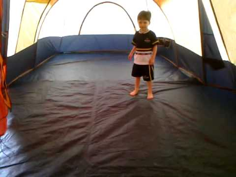 New Family Tent Ozark Trail Vacation Lodge Youtube