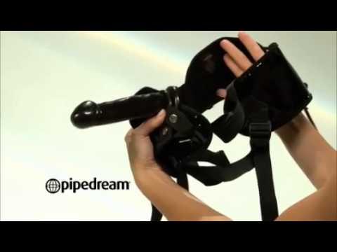Fetish Fantasy Garter Belt Strap-on Set Product Demo video