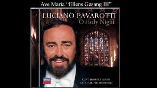 Luciano Pavarotti Ave Maria Ellens Gesang Iii D839