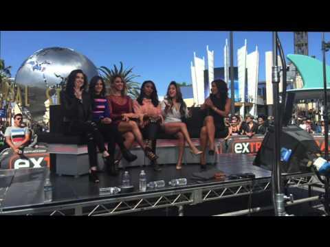 Fifth Harmony on ExtraTV's snapchat story (April 28, 2016)
