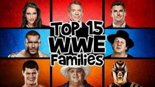 The 15 greatest families in WWE history