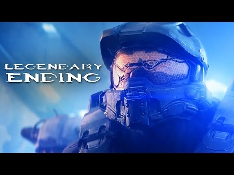 Halo 5 LEGENDARY ENDING (Halo 5 Guardians Ending)