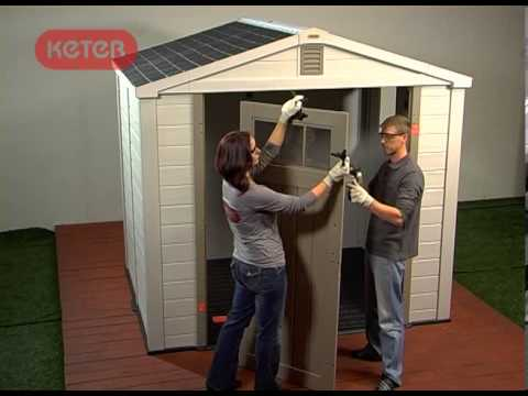 How To Build A Keter Infinity Shed
