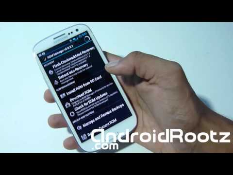 How to Install ClockworkMod on any Galaxy S3 [No Computer] [ATT. T