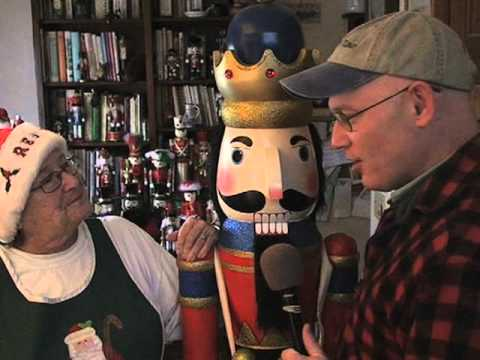 Giant nutcracker collection on Cape Cod!