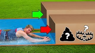 Dont Water Slide Through The Wrong Mystery Box