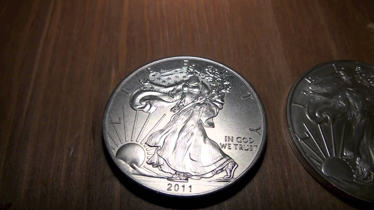 Detecting Fake Silver Eagles Youtube