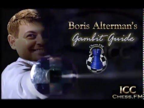 GM Alterman's Gambit Guide - Tal Gambit - Part 2 at Chessclub.com