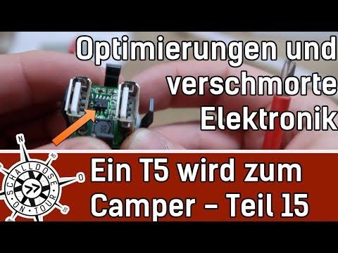 Umbau #15: Ein VW T5 wird zum Camper || Verbesserungen || SCHALLDOSE ON TOUR