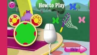 Mickey Mouse Clubhouse Full Episodes Games TV - Minnies Flutterin Butterfly
