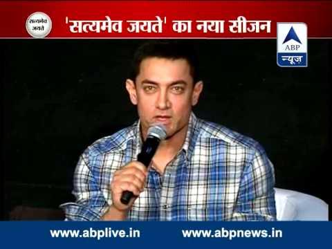 Aamir turns emotional while talking about Satyamev Jayate