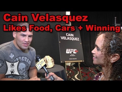 UFC 160s Cain Velasquez on Bigfoot Silva Rematch Finishing JDS  His Car Collection