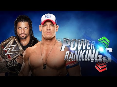 Which former Shield member is No. 1 on WWE Power Rankings?: June 18, 2016