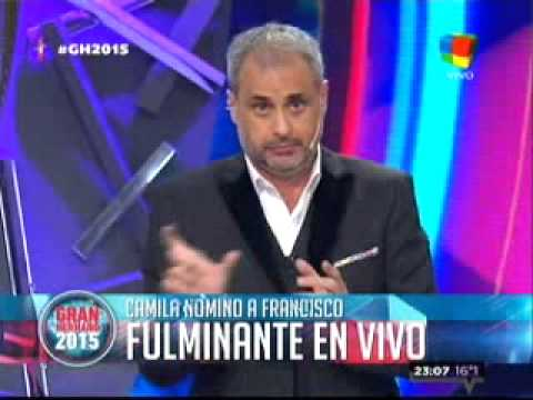 "Francisco se salvó, pero Camila lo ""fulminó"""