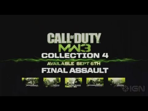 MW3 Content Collection 4 &#8211; Final Assault Trailer
