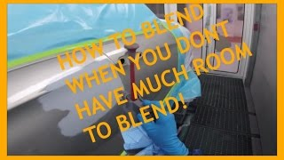 How to blend with not much room