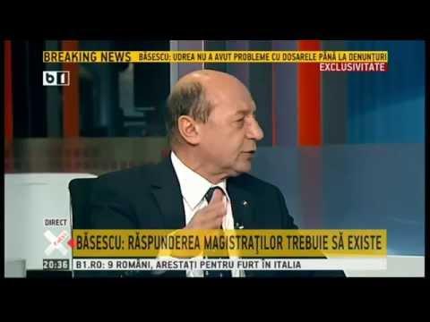 Traian Basescu O problema a sistemului sunt ofiterii acoperiti din justitie