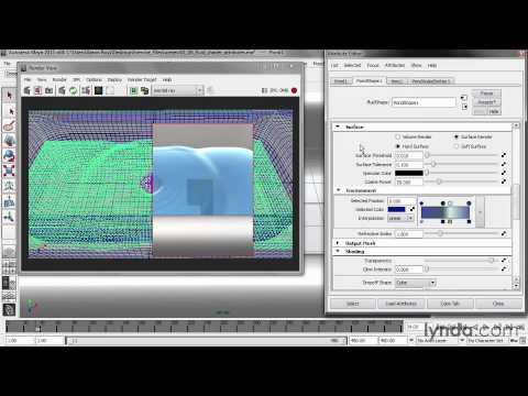 Lynda Creating Fluid Effects in Maya