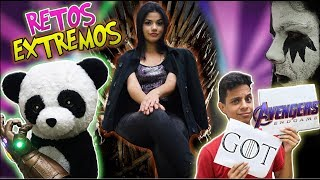 GAME OF THRONES vs AVENGERS ENDGAME Challenge | RETOS EXTREMOS