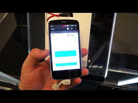 HTC Desire 500 - mid-endowy smartfon z aparatem o wyższej rozdzielczości niżtopowy model