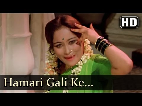 Nathaniya Jo Daali - Mujra - Item Girls - Main Tulsi Tere Aangan Ki - Bollywood Songs video