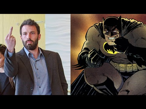 Ben Affleck Talks Batman RAGE!