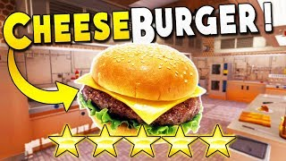 Cheeseburger So Good I Had to Redecorate the Kitchen : Cooking Simulator Gameplay