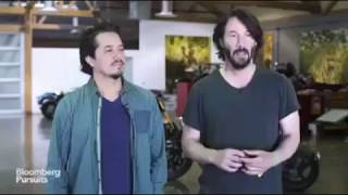 Keanu Reeves' motorcycle Company ARCH Motorcycle & Michelin: a good team !