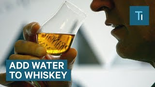 The science of why you should water down your whiskey