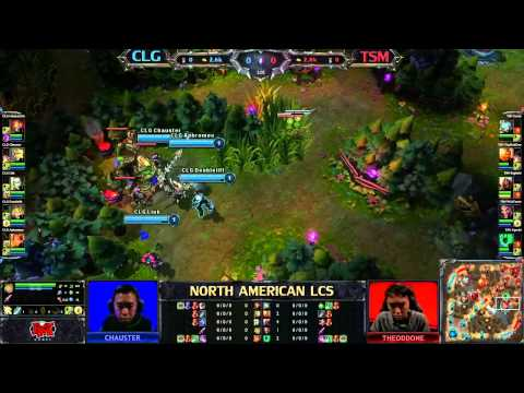 CLG vs TSM - LCS 2013 NA Spring W6D2 (English)