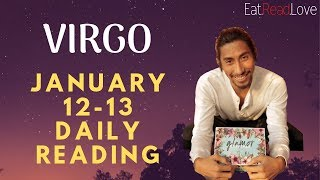 """VIRGO SOULMATE """"THE WAIT IS OVER FINALLY"""" JAN 12-13 DAILY TAROT READING"""