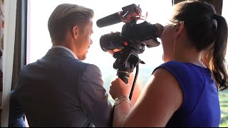 Derek Hough - Up Close & Very Personal ;)  Outtakes of Killick Klassik Promo Video