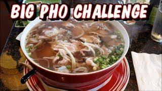 Big Pho Challenge at Pho Tango in Hillsboro, OR *Not Massive* | Freak Eating