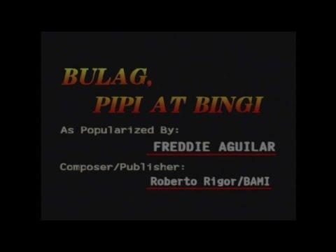 Bulag, Pipi at Bingi as popularized by Freddie Aguilar Video Karaoke