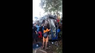 Sampaloc Tanay Rizal Bus Accident (Bestlink College Students)
