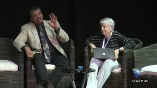 Jill Tarter and Neil deGrasse Tyson  Intelligent Life in the Universe
