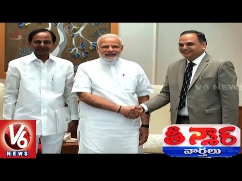 CM KCR Meets PM Modi: Raises Issues Concerned to Telangana State | Teenmaar News
