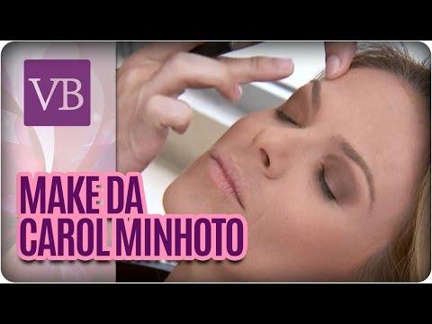 Você Bonita - Rotina de beleza da Carol Minhoto (15/01/16)