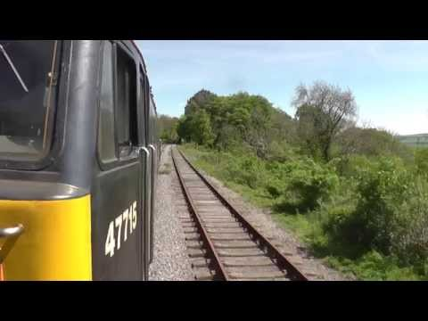 A Day with 47715 'Poseidon' at the Wensleydale Railway - 19/05/2014
