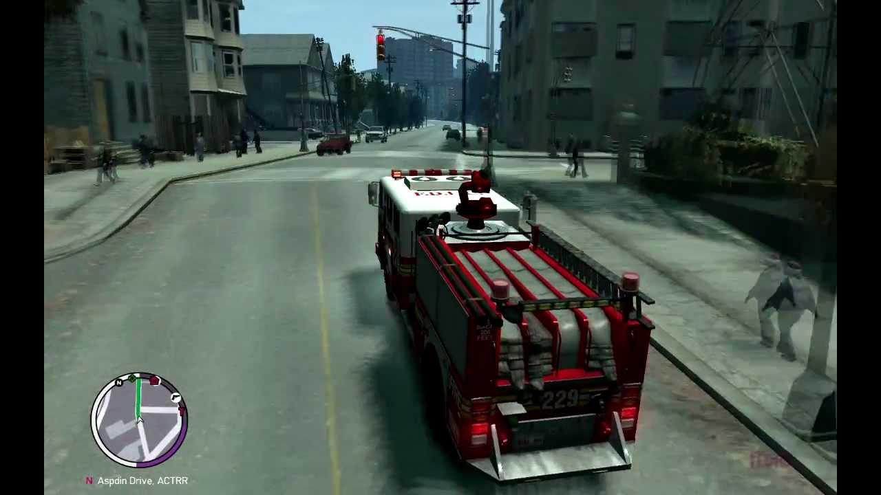 Truck Locations Gta 4 Gta 4 Fire Truck And