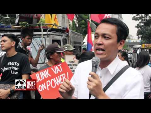 NEWSREEL: Protest awaited Supreme Court's decisions on Meralco power rate hike, DAP & cybercrime law
