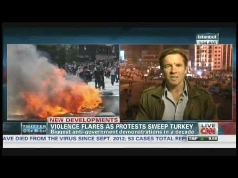 Deadly protests in Turkey, one killed, thousands injured in demonstrations (June 3, 2013)