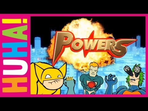 Powers! | Mr Weebl Originals