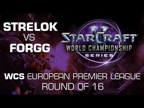 Strelok vs. ForGG - Group A Ro16 - WCS European Premier League - StarCraft 2