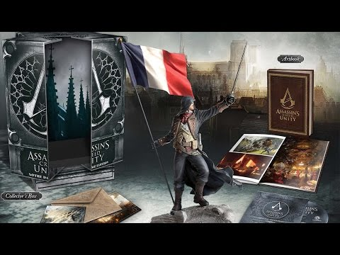 Assassin's Creed: Unity Notre Dame Edition - Распаковка