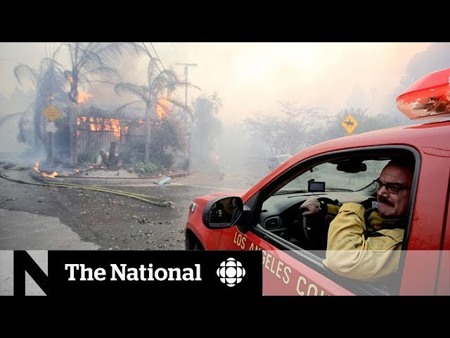 Wildfire devastation in California spreads